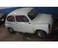 Fiat 600 1980 con todos sus papeles 17000...