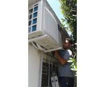 Reparación, instalación , carga de gas de refrigerantes y split