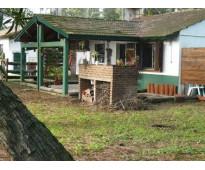 Villa gesell  alquiler anual /temp chalet de 2 amb pque av 6 2400
