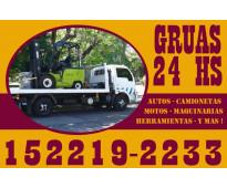 15-22192233 grúas plancha auxilio mecánico remolques y acarreos