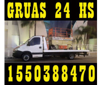 15-50388470 grúas camilla remolques y traslados las 24hs