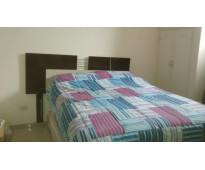 Departamento centrico de dos habitaciones matrimoniales  y 1 sofá cama de dos ca