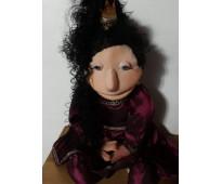 Marioneta princesa de 80 cm de alto