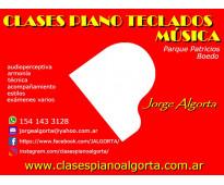 Clases de piano, teclados y música.