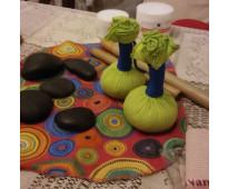 Masaje con piedras, cañas de bambu y pindas aromaticas/ drenaje linfatico/ masaj