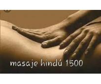 Masajes tecnica hindu
