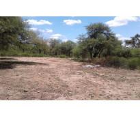 4.5 hectareas a la par de la capilla de fray mamerto esquiu