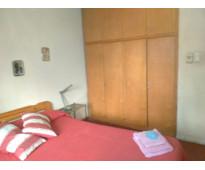 Habitaciones amuebladas p/ alquiler temporario con cochera