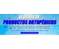 Ortopedia ans care, alquiler y venta de productos ortopedicos