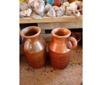 Macetas de barro jarrones fuentes de agua