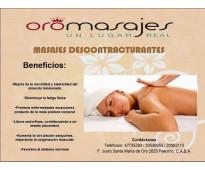 -masajes descontracturantes en centro oro palermo-