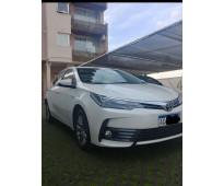 Toyota corolla cvt 1.8 tope de gama, automatico 2018