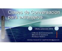 Spanish conversation in buenos aires - argentina