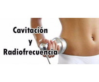 !ultracavitación + radiofrecuencia!