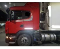 Scania g360 hp año 2013 excepcional estado