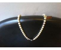 Antiguo collar de perlas mallorquinas