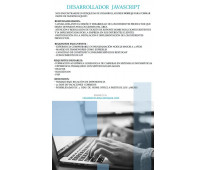 Desarrollador javascript