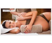 Masajes manuales para embarazadas