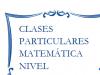 Clases particulares de matemática secundario  y de fisica nivel secundario