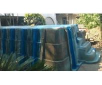 Reparacion de piletas de fibra de vidrio