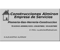 Plomeria- gas - herreria