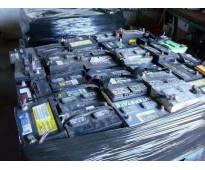 Baterias de carro desechable y placas de circuito electrónico