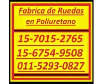 Poliuretano ruedas 0ll-4848-0674 / 011-4844-2526 engomado