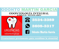 Dentista prótesis implantes invisalign odontopediatria brackets barracas