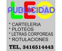 Letras corporeas leo publicidad 3416514443