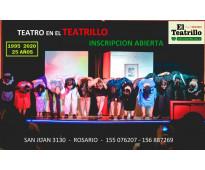 Talleres de  teatro el teatrillo