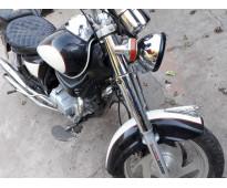 Vendo moto chopera gilera usada