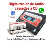 Audio cassette a pendrive o cd
