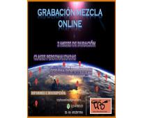 Grabacion - mezcla -  sonido -  online.