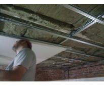 Techo con aislacion  termica  instalamos