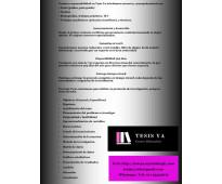 Asesoría de tesis, tesinas y trabajos de grado.
