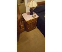 Mesa de luz madera