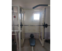 Block de máquinas para gimnasio