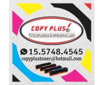 Cartuchos de tóner y recargas para impresoras láser, fotocopiadoras y equipos mu...