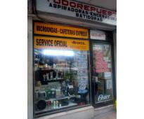 Reparación y venta de repuestos de electrodomesticos
