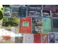 * automobilia c.a.a. * venta manuales de automoviles antiguos y modernos