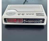 Radio reloj digital vintage cosmo am fm. funciona