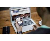 Pagina de internet para academia