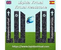 Lápida virtual (cementerio virtual)