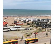 Departamento frente y con vista al mar y balnearios centricos