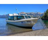 Lancha tracker benavidez 980 pasajeros