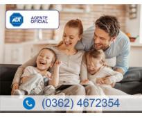 Alarma monitoreada en chaco (0362) 4672354 | adt agente oficial
