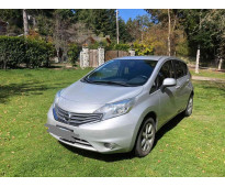 Nissan note 1.6 advance pure drive 2015