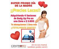 ¡promo body up pro día de la madre!