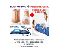 Presoterapia + body up pro