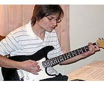 Clases de guitarra electrica via skype